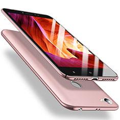 Coque Plastique Rigide Etui Housse Mat M02 pour Xiaomi Redmi Note 5A High Edition Rose