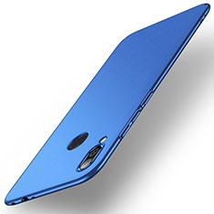 Coque Plastique Rigide Etui Housse Mat M02 pour Xiaomi Redmi Note 7 Pro Bleu