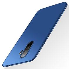 Coque Plastique Rigide Etui Housse Mat M02 pour Xiaomi Redmi Note 8 Pro Bleu