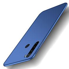 Coque Plastique Rigide Etui Housse Mat M02 pour Xiaomi Redmi Note 8T Bleu