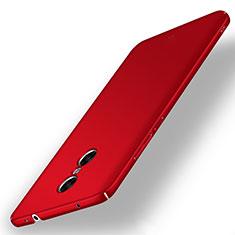 Coque Plastique Rigide Etui Housse Mat M02 pour Xiaomi Redmi Pro Rouge
