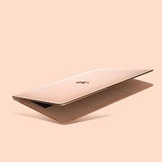 Coque Plastique Rigide Etui Housse Mat M03 pour Apple MacBook Air 13 pouces (2020) Or