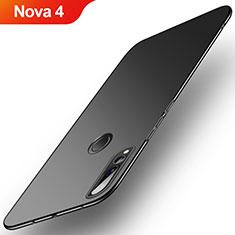 Coque Plastique Rigide Etui Housse Mat M03 pour Huawei Nova 4 Noir