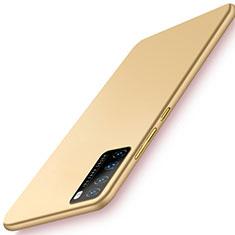 Coque Plastique Rigide Etui Housse Mat M03 pour Huawei Nova 7 Pro 5G Or