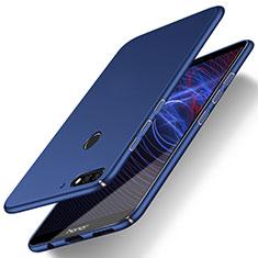 Coque Plastique Rigide Etui Housse Mat M03 pour Huawei Y7 (2018) Bleu