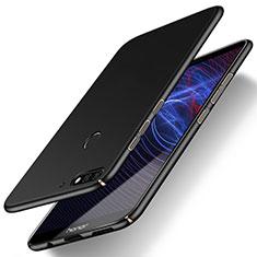 Coque Plastique Rigide Etui Housse Mat M03 pour Huawei Y7 (2018) Noir