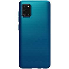 Coque Plastique Rigide Etui Housse Mat M03 pour Samsung Galaxy A31 Bleu