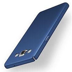 Coque Plastique Rigide Etui Housse Mat M03 pour Samsung Galaxy A5 Duos SM-500F Bleu