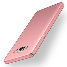 Coque Plastique Rigide Etui Housse Mat M03 pour Samsung Galaxy A5 Duos SM-500F Rose