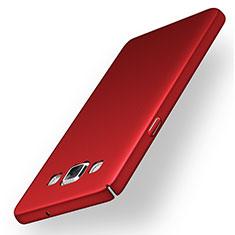 Coque Plastique Rigide Etui Housse Mat M03 pour Samsung Galaxy A5 SM-500F Rouge