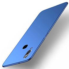 Coque Plastique Rigide Etui Housse Mat M03 pour Samsung Galaxy A6s Bleu