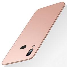 Coque Plastique Rigide Etui Housse Mat M03 pour Samsung Galaxy A6s Or Rose