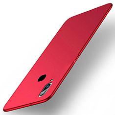 Coque Plastique Rigide Etui Housse Mat M03 pour Samsung Galaxy A6s Rouge