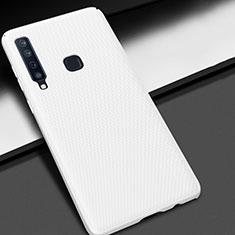 Coque Plastique Rigide Etui Housse Mat M03 pour Samsung Galaxy A9s Blanc