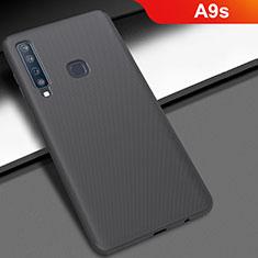 Coque Plastique Rigide Etui Housse Mat M03 pour Samsung Galaxy A9s Noir