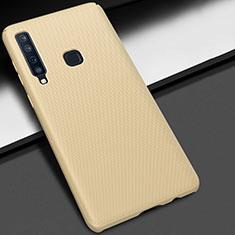 Coque Plastique Rigide Etui Housse Mat M03 pour Samsung Galaxy A9s Or