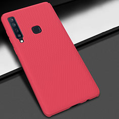 Coque Plastique Rigide Etui Housse Mat M03 pour Samsung Galaxy A9s Rouge