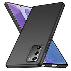 Coque Plastique Rigide Etui Housse Mat M03 pour Samsung Galaxy Note 20 5G Noir