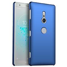 Coque Plastique Rigide Etui Housse Mat M03 pour Sony Xperia XZ2 Bleu