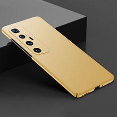 Coque Plastique Rigide Etui Housse Mat M03 pour Xiaomi Mi 10 Ultra Or