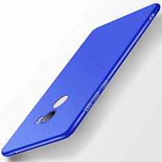Coque Plastique Rigide Etui Housse Mat M03 pour Xiaomi Mi Mix Evo Bleu