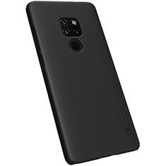 Coque Plastique Rigide Etui Housse Mat M04 pour Huawei Mate 20 Noir