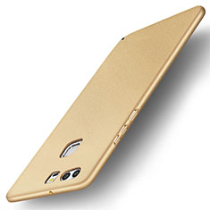 Coque Plastique Rigide Etui Housse Mat M04 pour Huawei P9 Plus Or