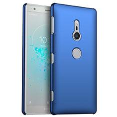 Coque Plastique Rigide Etui Housse Mat M04 pour Sony Xperia XZ2 Bleu