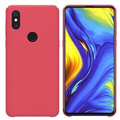 Coque Plastique Rigide Etui Housse Mat M04 pour Xiaomi Mi Mix 3 Rouge
