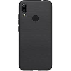Coque Plastique Rigide Etui Housse Mat M04 pour Xiaomi Redmi Note 7 Pro Noir