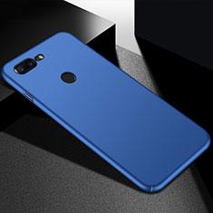 Coque Plastique Rigide Etui Housse Mat M05 pour OnePlus 5T A5010 Bleu
