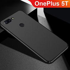 Coque Plastique Rigide Etui Housse Mat M05 pour OnePlus 5T A5010 Noir