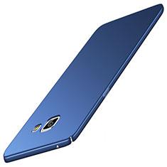 Coque Plastique Rigide Etui Housse Mat M05 pour Samsung Galaxy A9 Pro (2016) SM-A9100 Bleu