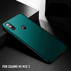 Coque Plastique Rigide Etui Housse Mat M05 pour Xiaomi Mi Mix 3 Vert