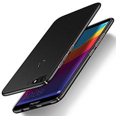 Coque Plastique Rigide Etui Housse Mat M15 pour Huawei Enjoy 8e Noir