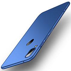 Coque Plastique Rigide Etui Housse Mat P01 pour Huawei Enjoy 9 Plus Bleu