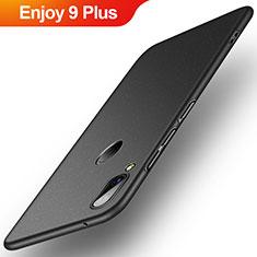 Coque Plastique Rigide Etui Housse Mat P01 pour Huawei Enjoy 9 Plus Noir