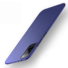 Coque Plastique Rigide Etui Housse Mat P01 pour Huawei Honor Play4 Pro 5G Bleu