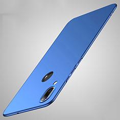 Coque Plastique Rigide Etui Housse Mat P01 pour Huawei Honor V10 Lite Bleu