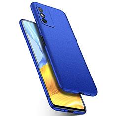 Coque Plastique Rigide Etui Housse Mat P01 pour Huawei Honor X10 Max 5G Bleu