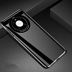 Coque Plastique Rigide Etui Housse Mat P01 pour Huawei Mate 40 Noir