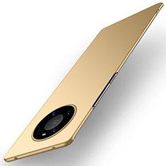 Coque Plastique Rigide Etui Housse Mat P01 pour Huawei Mate 40 Pro Or