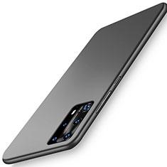 Coque Plastique Rigide Etui Housse Mat P01 pour Huawei P40 Pro+ Plus Noir