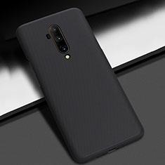 Coque Plastique Rigide Etui Housse Mat P01 pour OnePlus 7T Pro Noir
