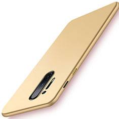 Coque Plastique Rigide Etui Housse Mat P01 pour OnePlus 8 Pro Or