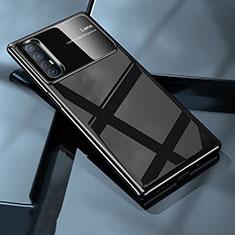 Coque Plastique Rigide Etui Housse Mat P01 pour Oppo Find X2 Neo Noir