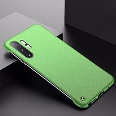 Coque Plastique Rigide Etui Housse Mat P01 pour Samsung Galaxy Note 10 Plus 5G Vert
