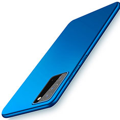 Coque Plastique Rigide Etui Housse Mat P01 pour Samsung Galaxy Note 20 5G Bleu