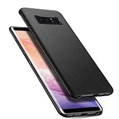 Coque Plastique Rigide Etui Housse Mat P01 pour Samsung Galaxy Note 8 Duos N950F Noir