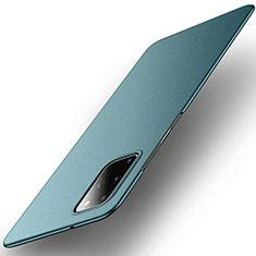 Coque Plastique Rigide Etui Housse Mat P01 pour Samsung Galaxy S20 Plus Vert